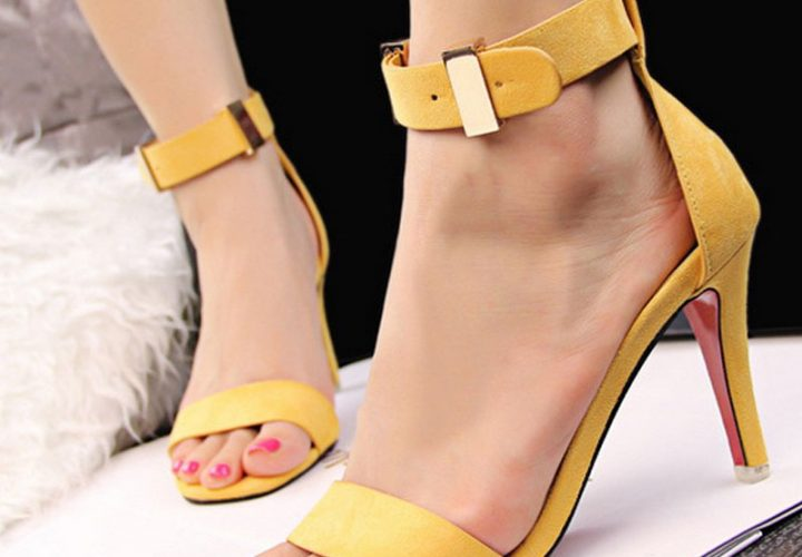 Open toe high heel for all ladies