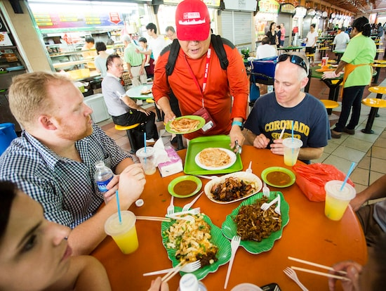 hawker food tour singapore