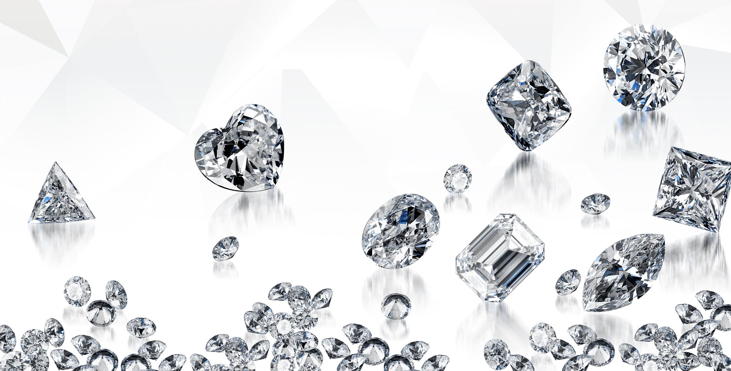 Quality of diamond jewelleries